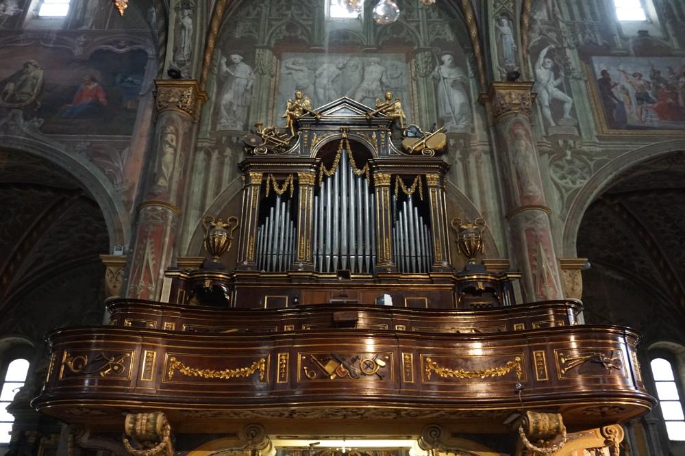 Cattedrale-Saluzzo-Cuneo-Piemonte-Organo-Architettura gotica