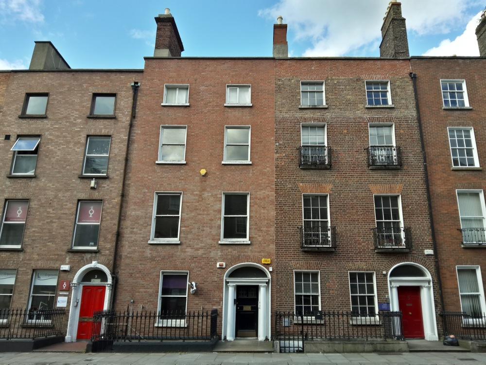 Architettura-Porte colorate-Porte-Merrion Square-Dublino-Irlanda-Viaggio culturale