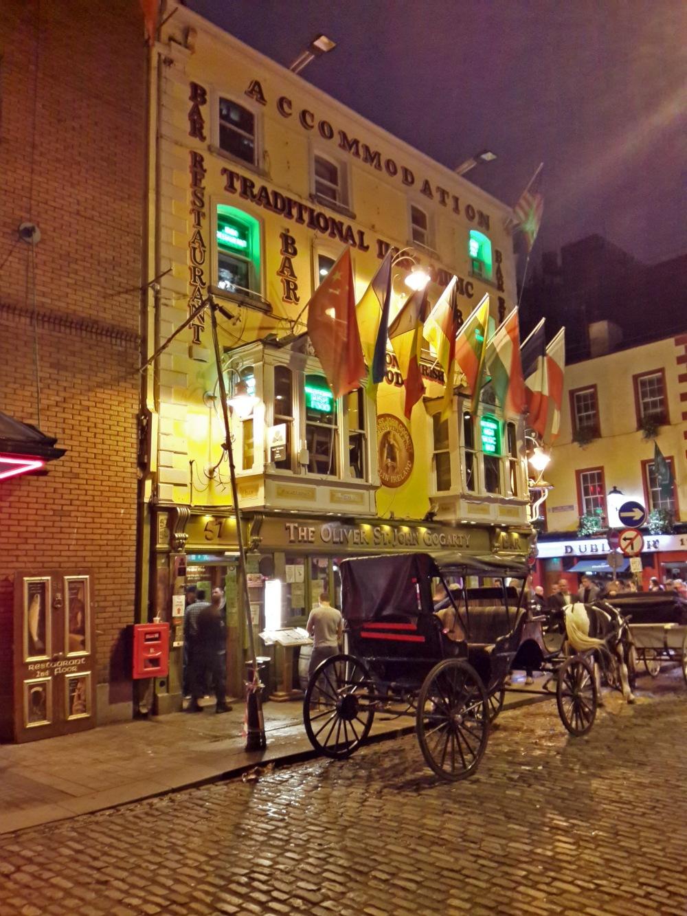 Temple Bar-Vita notturna di Dublino-Dublino-Irlanda-Locali-Pub-Birra-Whiskey