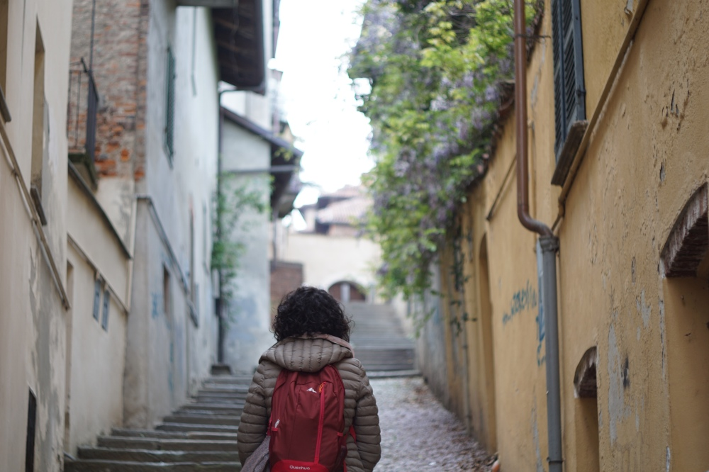 Saluzzo-Cuneo-Piemonte-Centro Storico-Borgo medievale