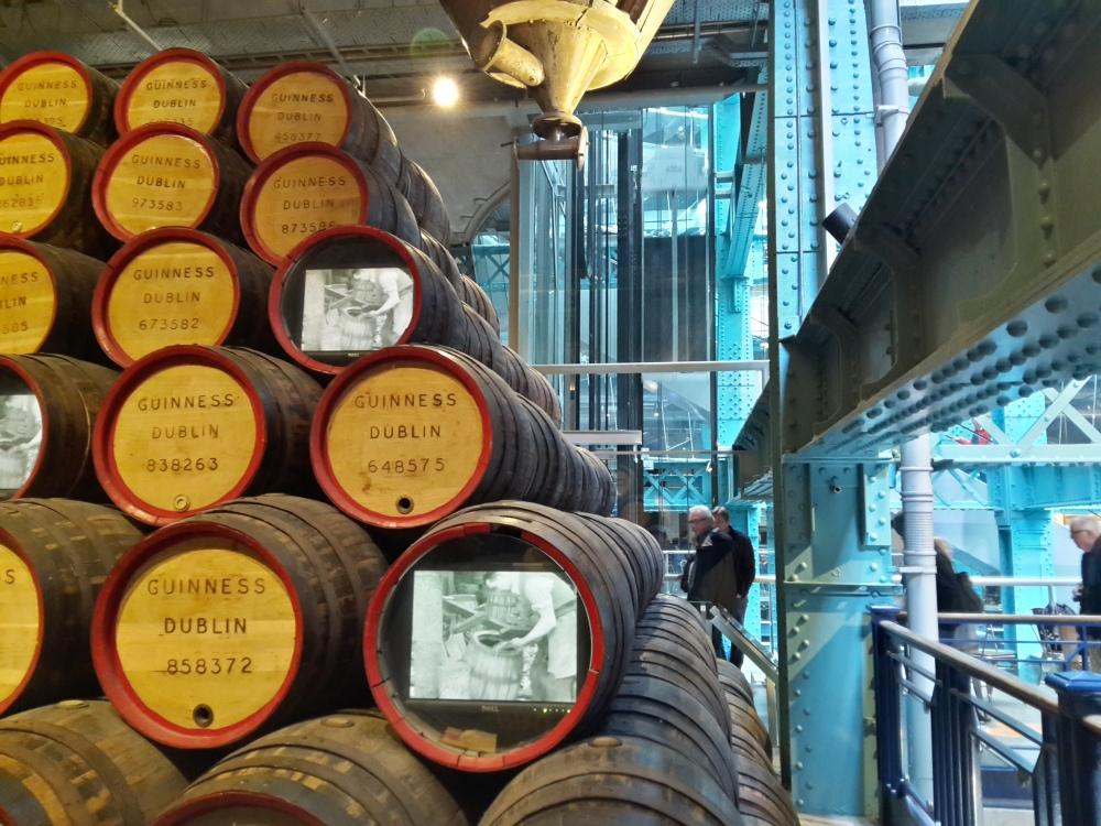 Guinness Storehouse-visita-birrificio-Dublin-Ireland-visitare Dublino-degustazione-birra-Guinness