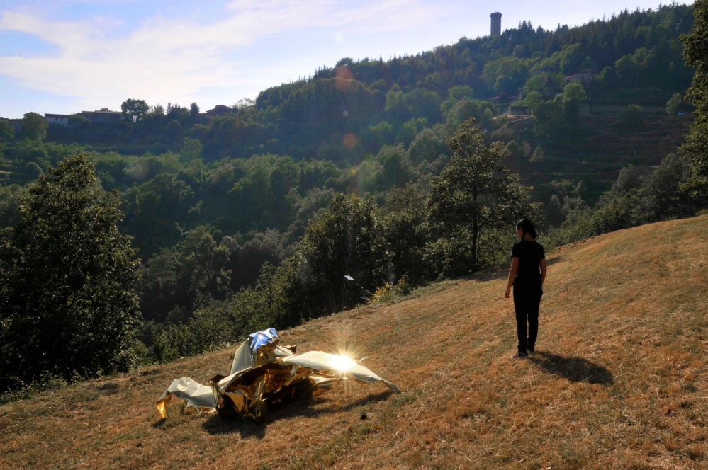 scultura-arte contemporanea-museo a cielo aperto-blog arte torino-asti-Piemonte-Parco Quarelli-Mostra Senza Frontiere-Alessandro Demma-Bouvet island