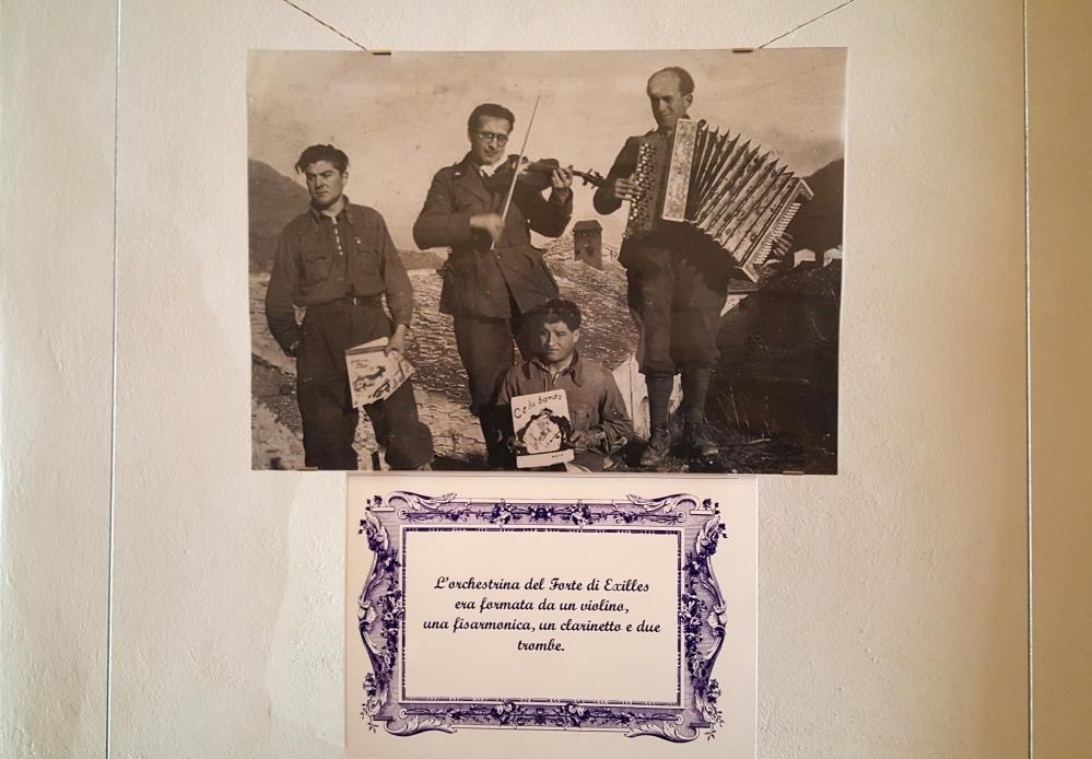 Fotografia dell'orchestra del Forte di Exilles-Cappella del Beato Amedeo di Savoia-Forte di Exilles-Torino-Piemonte-Blog Arte Torino