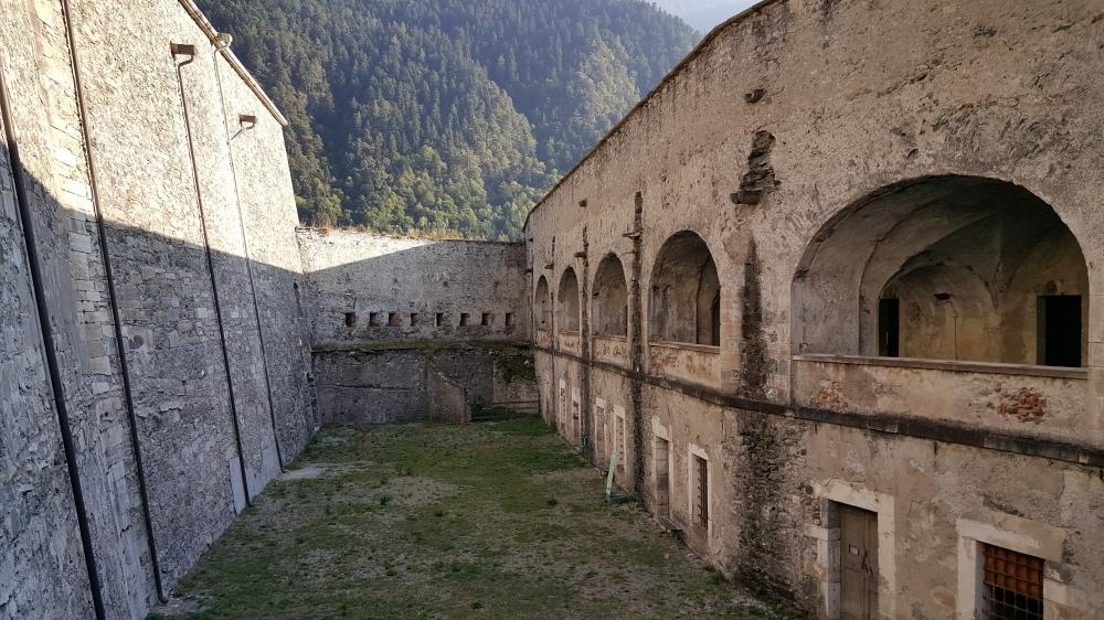 Cortile delle Galere-Prigioni-Forte di Exilles-Torino-Piemonte-Blog Arte Torino
