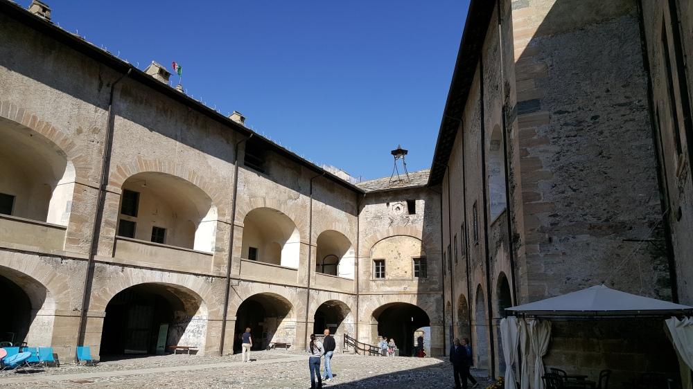 Cortile del Cavaliere-Forte di Exilles-Val di Susa-Fortezza Militare-Torino-Blog arte Torino