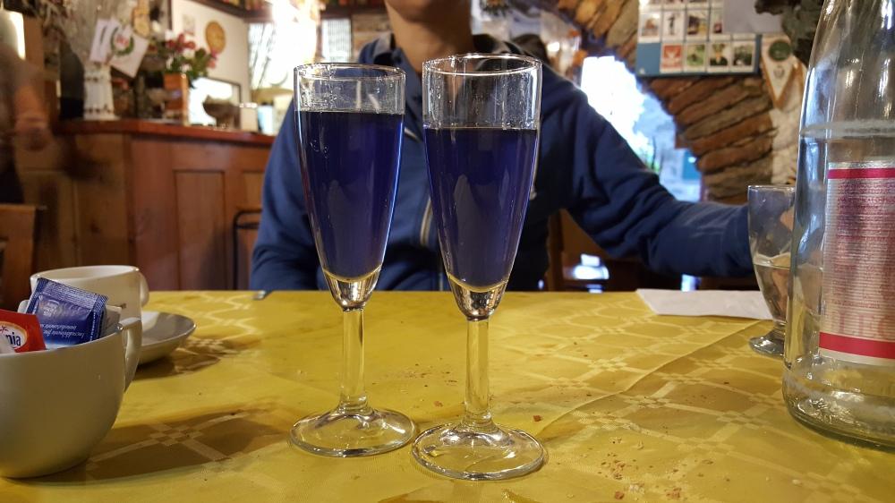 Liquore alla lavanda-Ristorante La Quadriglia-Exilles-Torino-Piemonte-Blog arte Torino