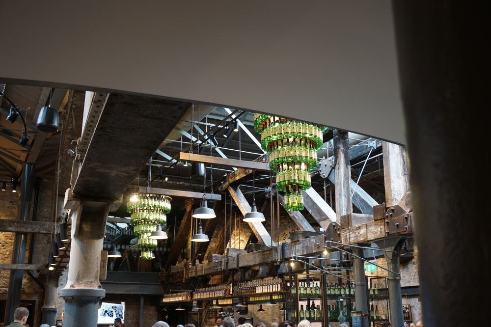 Interior design-Industrial design-bar-Old Jameson Distillery-distilleria-whiskey-cosa vedere a Dublino-visitare l'Irlanda
