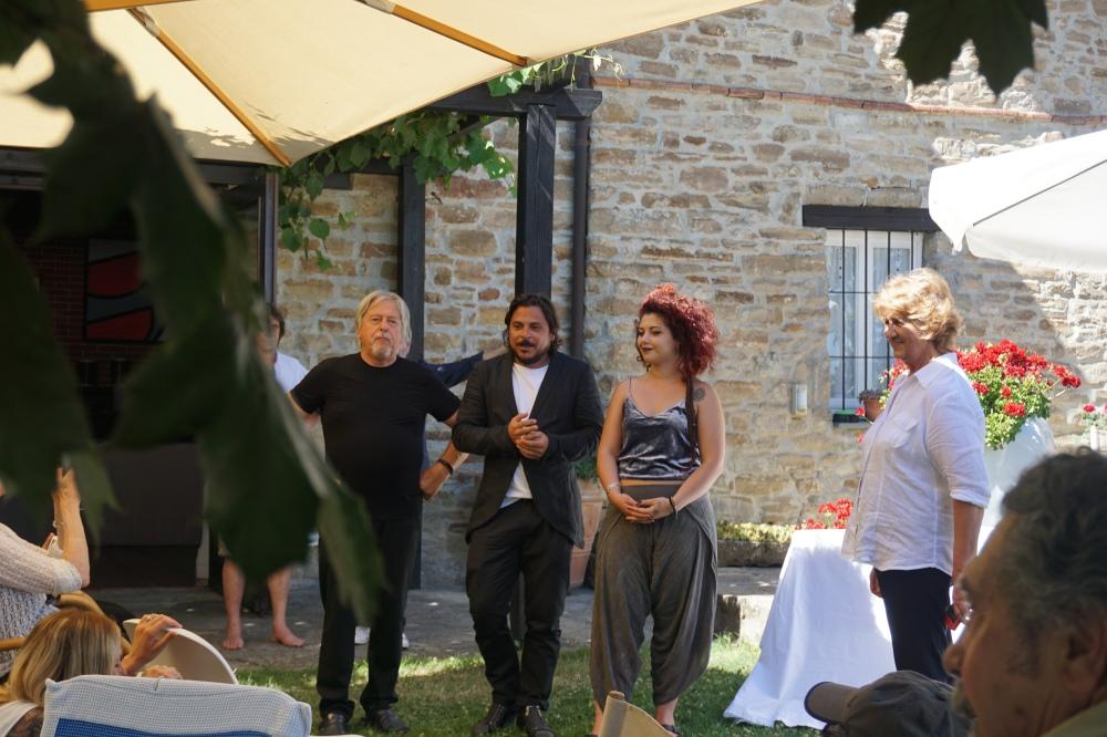 Mostra Senza Frontiere-Alessandro Demma-Premio Quarelli-Clarissa Baldassarri-Parco Quarelli-Arte contemporanea-Sculture-Blog arte torino-Asti-Piemonte