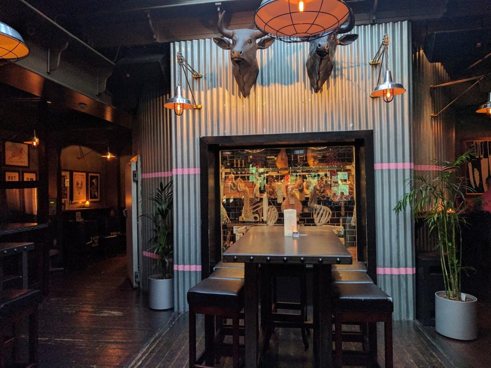 The Bull And The Castle-carne-ristorante-mangiare a Dublino-Viaggio in Irlanda-dove mangiare a Dublino-viaggio-Dublin-Ireland