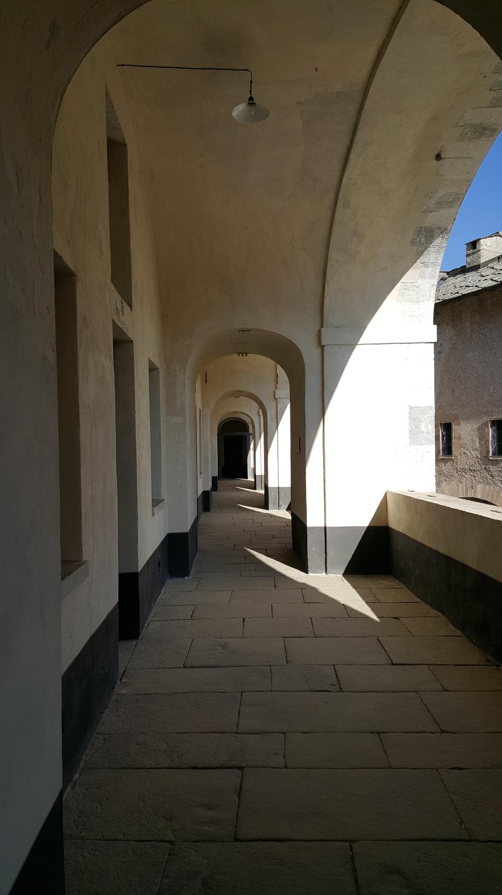 Camerate-Stanze dei militari-Forte di Exilles-Blog Arte Torino-Piemonte-Val di Susa
