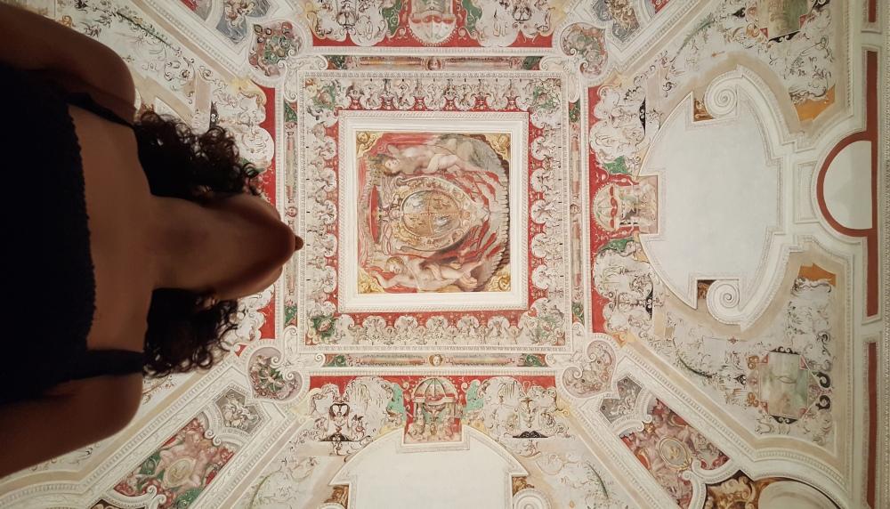 Affresco-Rinascimento-Villa d'Este-Tivoli-Appartamento del Cardinale