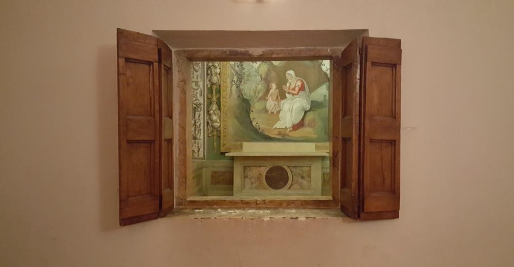 Cappella privata-Villa d'Este-Tivoli-Appartamenti privati