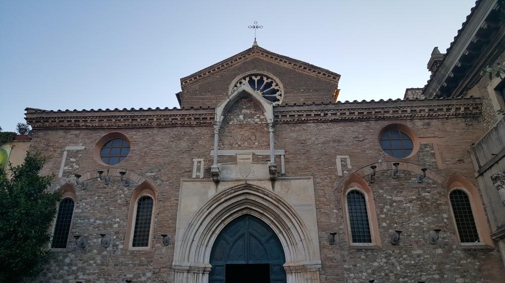 Chiesa di Santa Maria Maggiore-Facciata-Tivoli-Villa d'Este-Italia