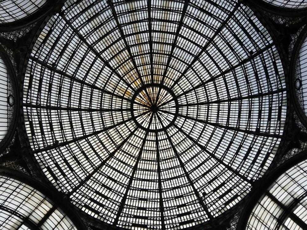 Galleria Umberto Primo Napoli-Architettura Napoli-Napoli-Viaggio a Napoli-Visitare Napoli-Cosa vedere a Napoli