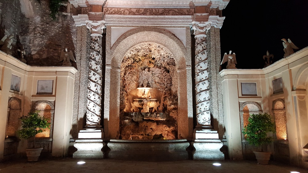 Fontana della Civetta-Giardini-Villa d'Este-Tivoli