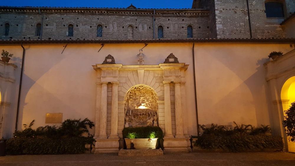 Fontana di Venere-Villa d'Este-Cortile-Tivoli
