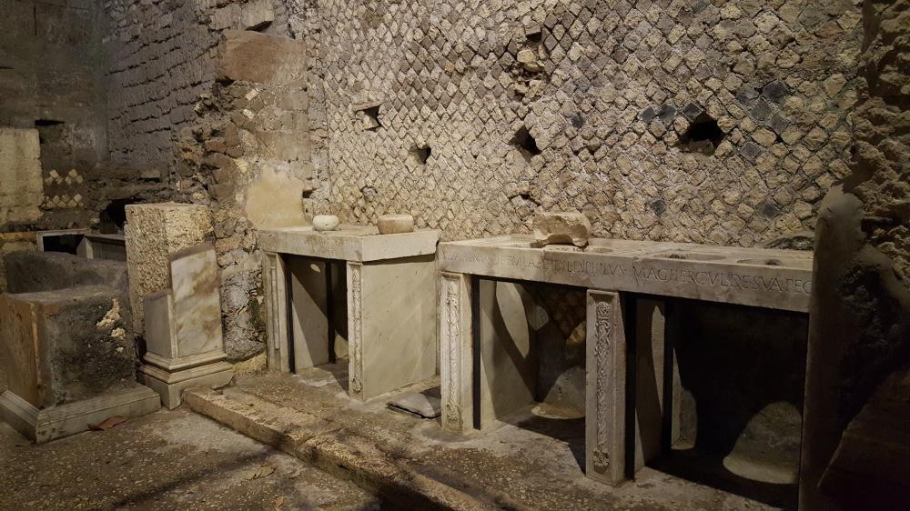 Mensae-tavole per misure-Mensa Ponderaria-Tivoli-Roma-Archeologia