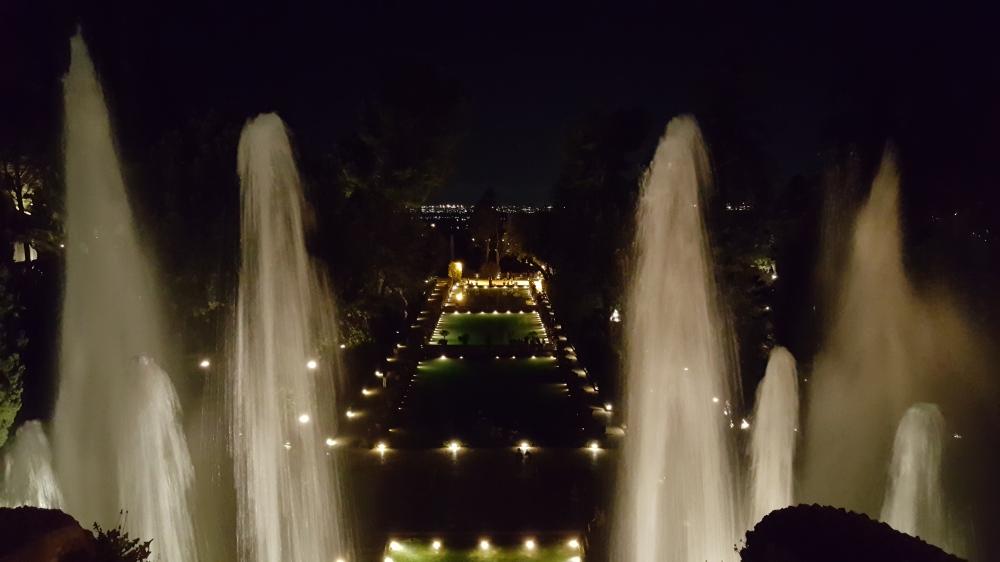 Peschiere-Villa d'Este-Giardino all'italiana-Tivoli-Roma