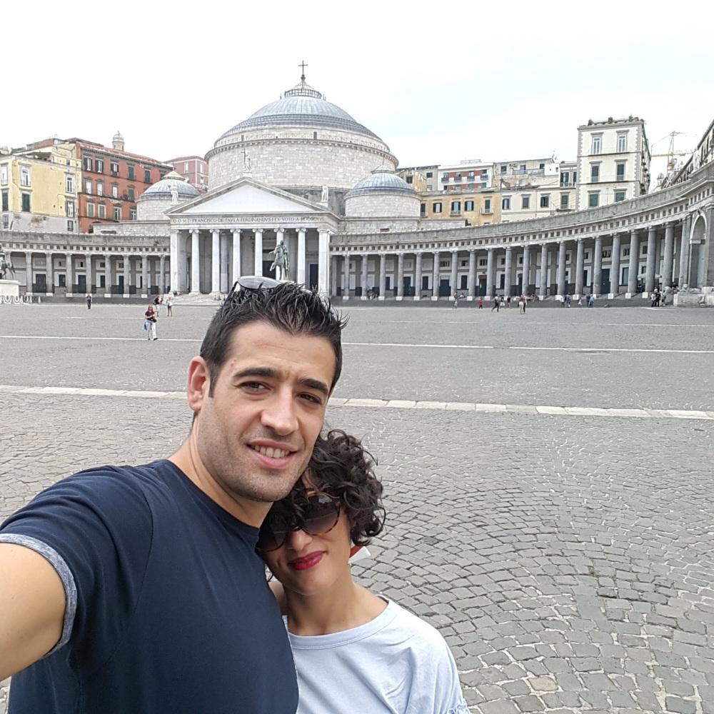 Piazza del Plebiscito Napoli-Basilica di San Francesco di Paola Napoli-Viaggio a Napoli-Tour a Napoli-Visitare Napoli-Cosa vedere a Napoli-Napoli museo a cielo aperto