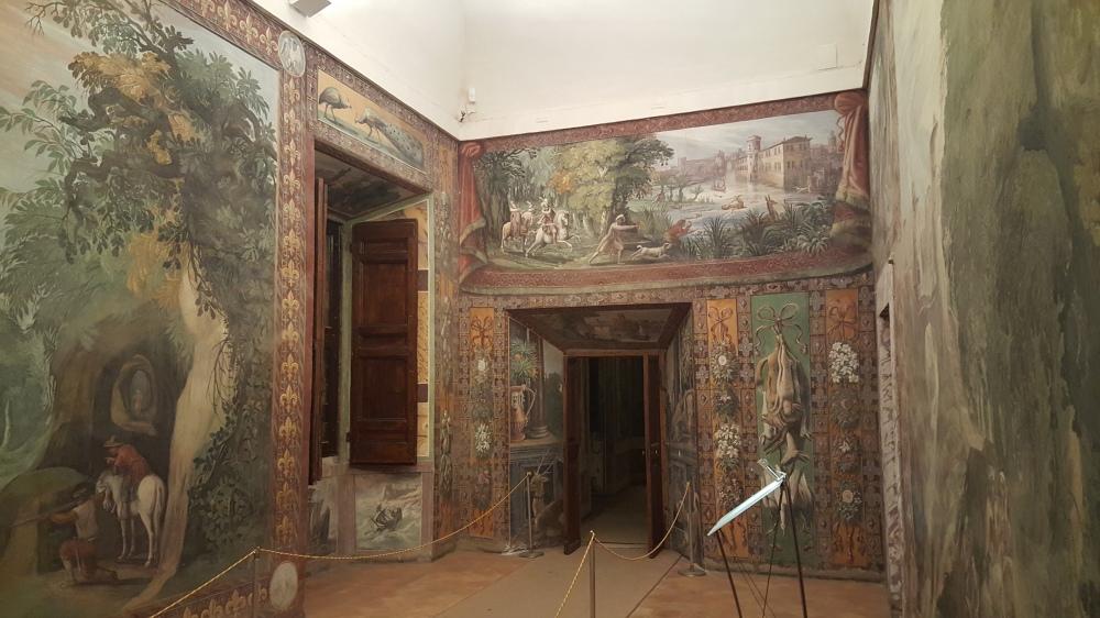 Sala della Caccia-Villa d'Este-Tivoli-Roma-Beni Culturali