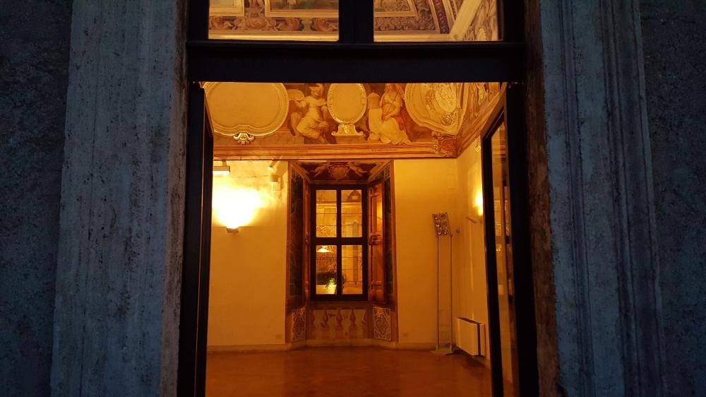 Salone-Villa d'Este-villa rinascimentale-Tivoli-Roma-Italia
